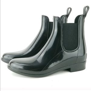 Tinsley Black Rain Booties